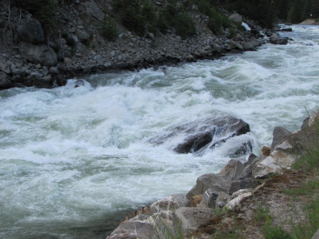 Raging Wenatchee River