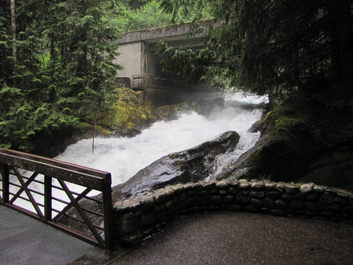 Deception Falls, looking downstream