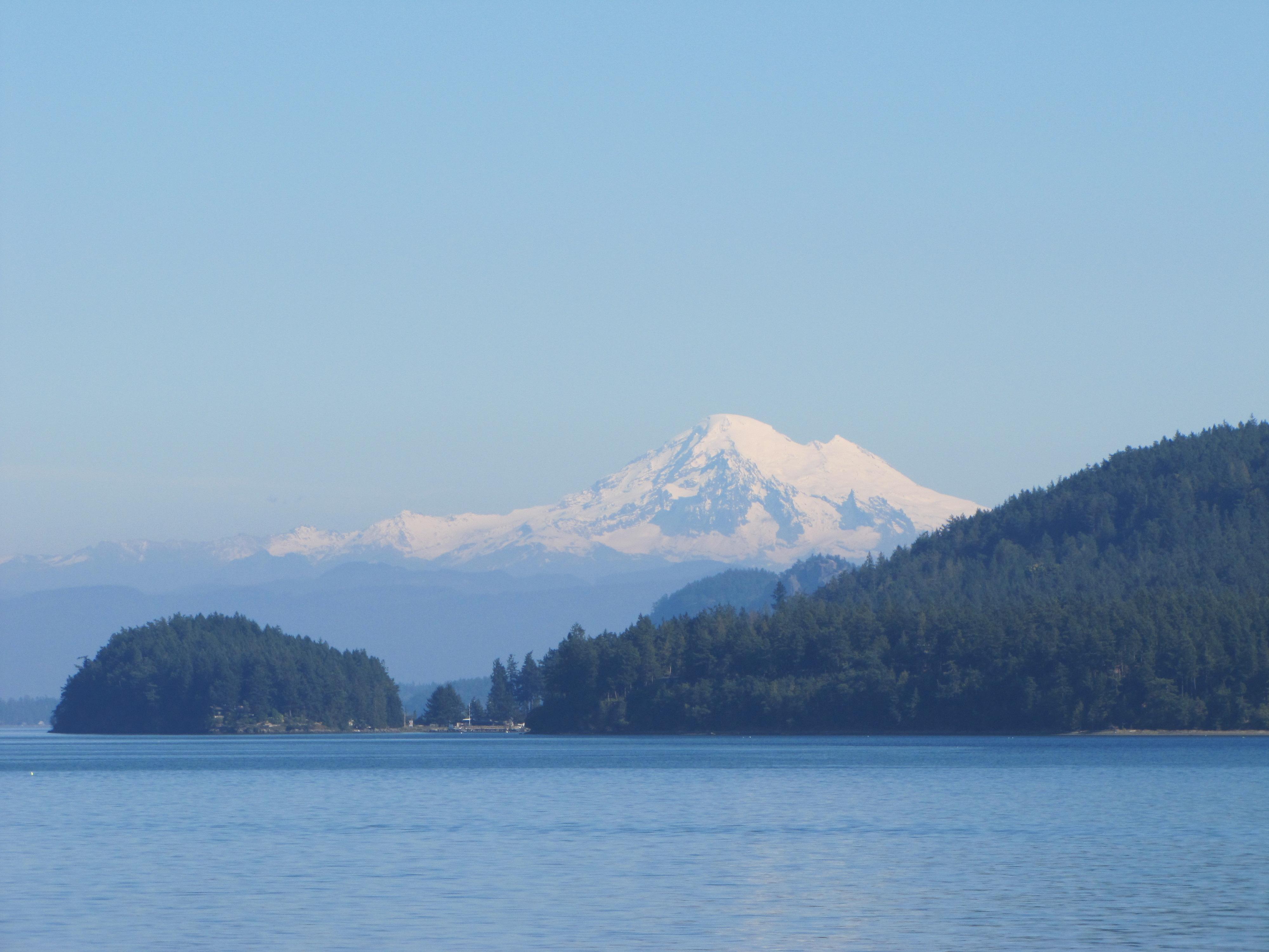 Mount Baker, seen from San Juan Ferry