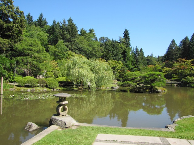 Seattle Japanese Garden with Pagoda