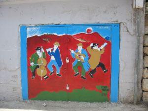 Painted Door, Safed, Israel