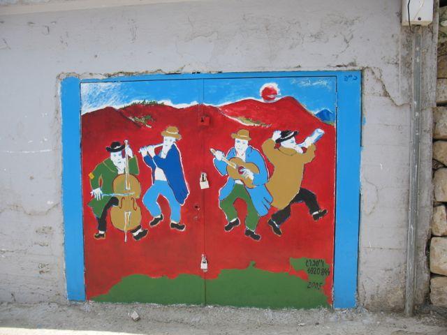 Painted Door, Safed
