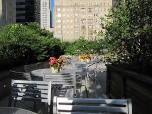 Rooftop terrace, Lenfest Hall, Curtis Institute of Music, Philadelphia
