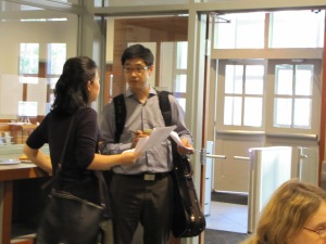 Faculty Conference: Amy Yang, Piano and Soovin Kim, Violin coached our groups