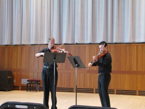 Salchow and Verner, Dueling Violas