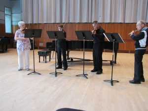 RushBabe's group plays our Telemann