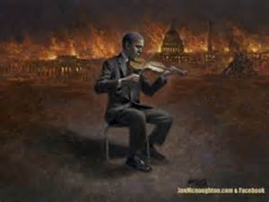 Obama fiddles while the world burns