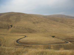 Winding Road-Eastern Washington State