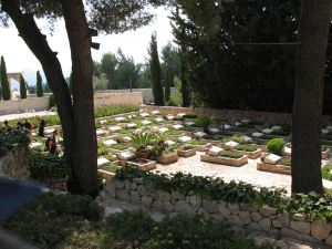Graves of Brave Jewish Fighters for the State of Israel