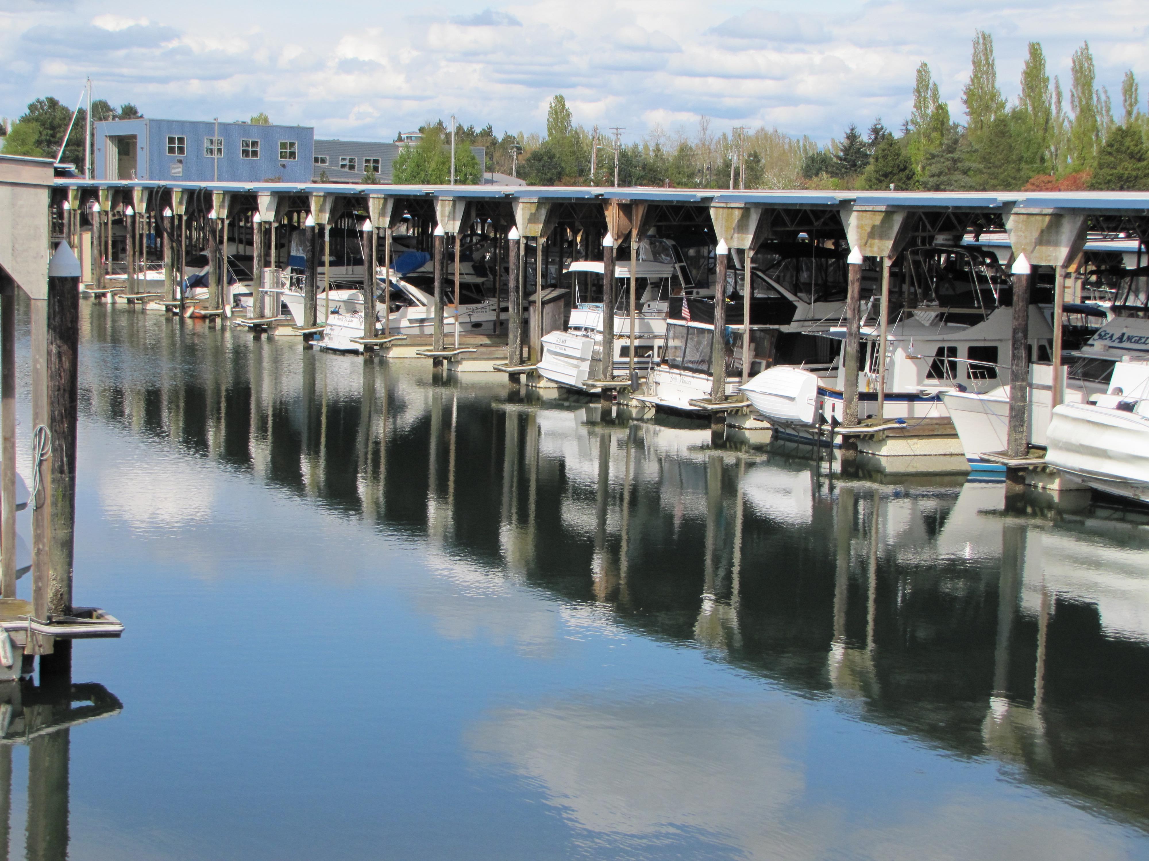Afloat at LaConner Marina