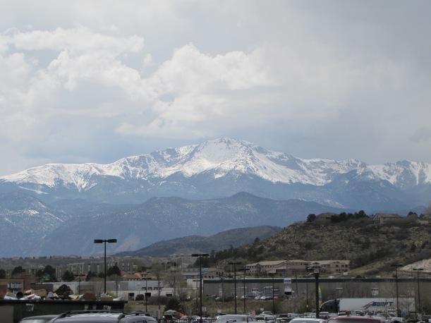 Pike's Peak from Colorado Springs