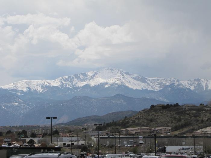 Pike's Peak from Colorado Springs