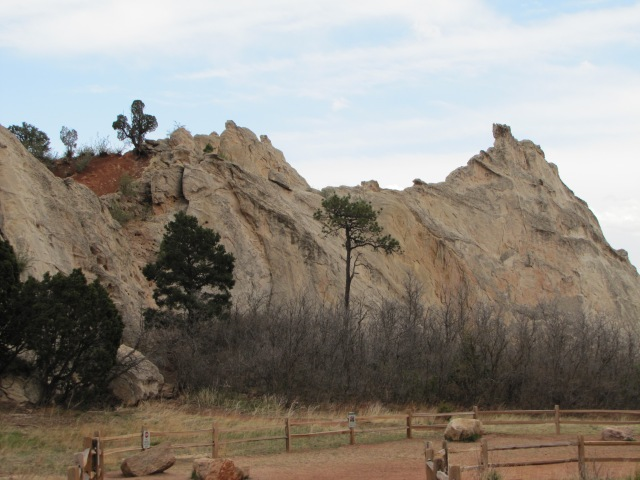 Rock formation, Garden of the Gods