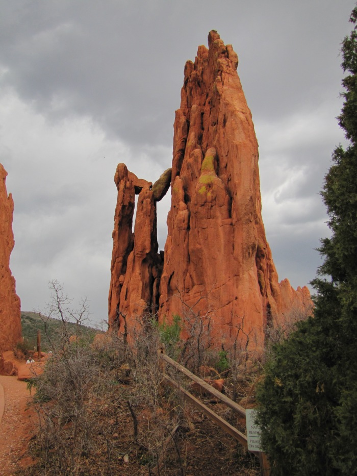 Balancing rocks, Garden of the Gods