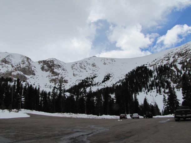 Halfway up Pike's Peak