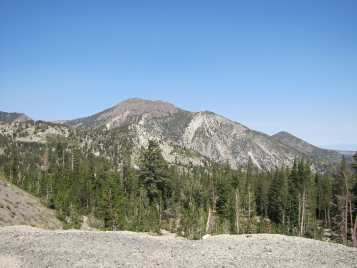 View of mountains, Mt. Rose Summit, Nevada