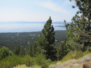 View of Lake Tahoe, from Nevada Highway 431, Mt. Rose Highway