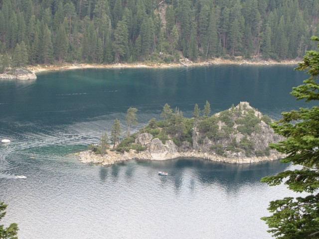 Emerald Bay, south end of Lake Tahoe
