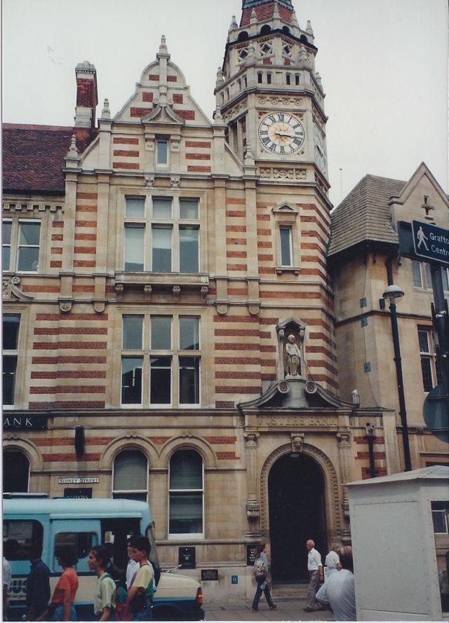 Cambridge Corn Exchange, dating from 16th Century