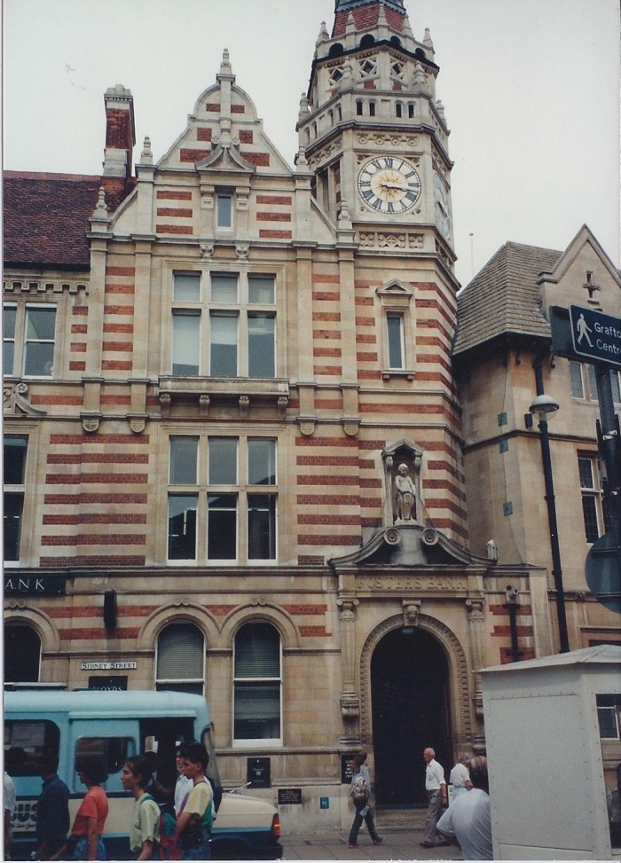 Cambridge Corn Exchange, dating from 16th Century