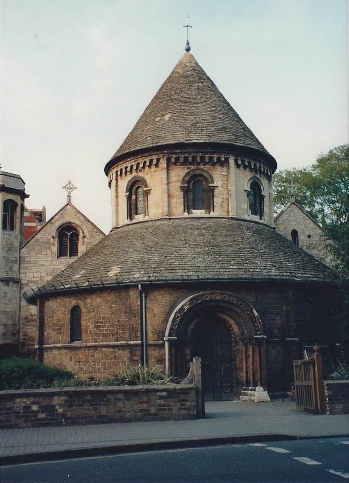 Round Church, Cambridge, dating from 11th Century