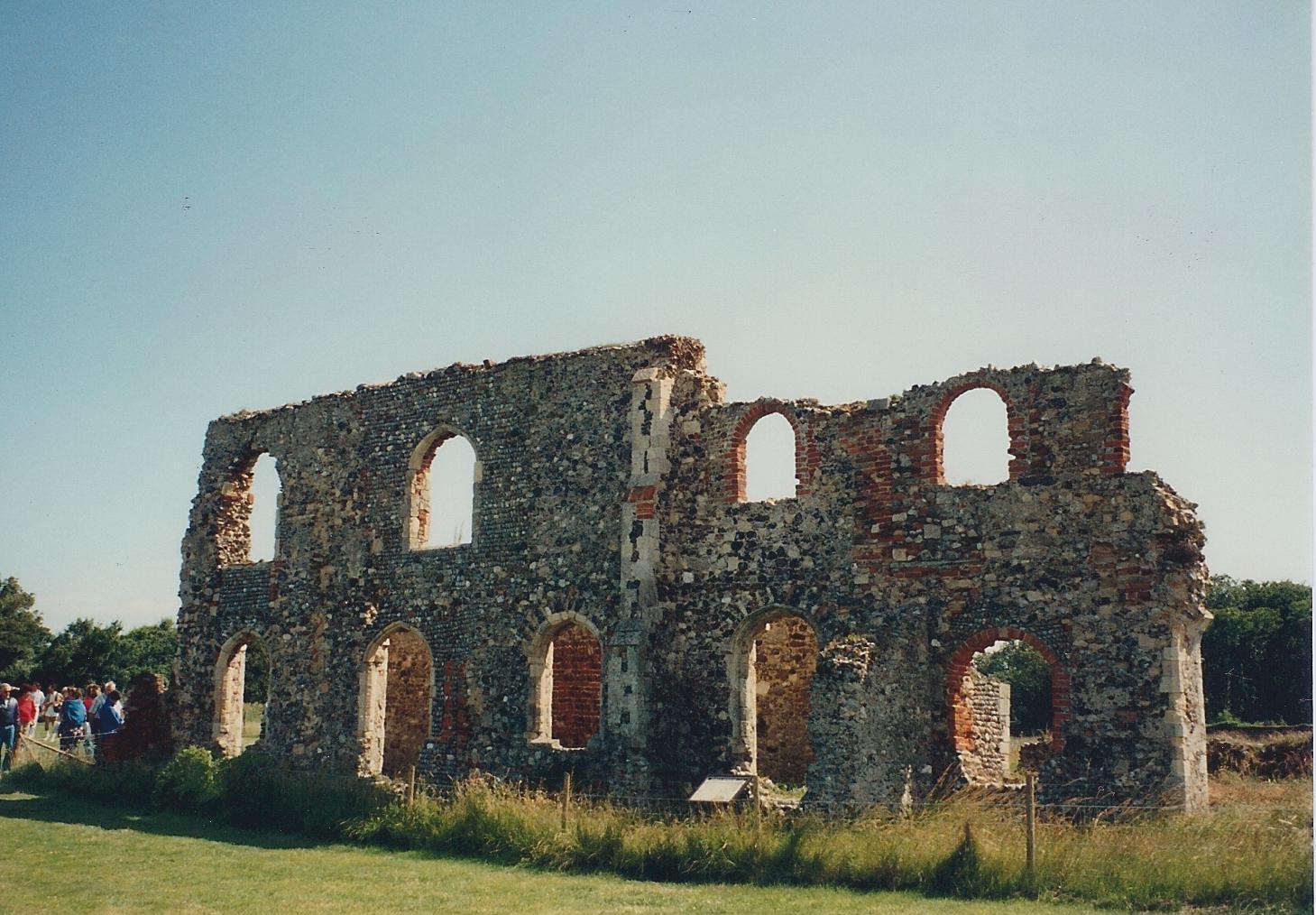 Greyfriars Abbey ruin