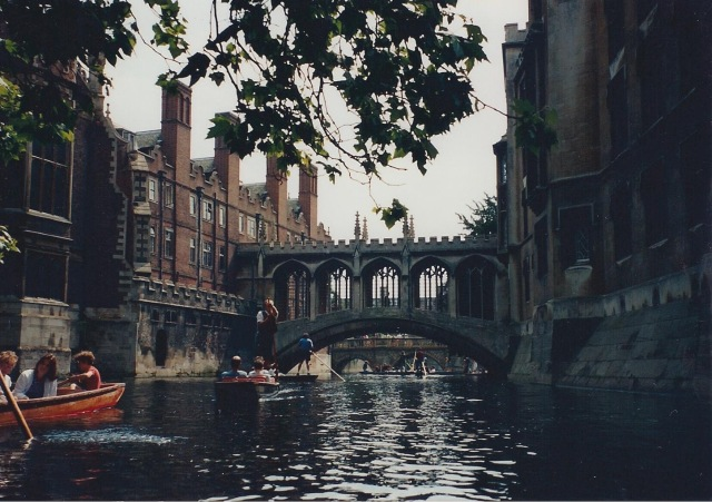 Replica of Bridge of Sighs-Venice-Back of St. John's College, Cambridge