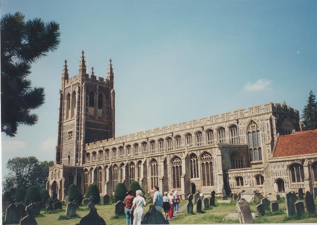 Long Melford Church