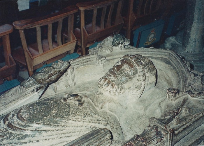 Knight's sarcophagus, Ely Cathedral