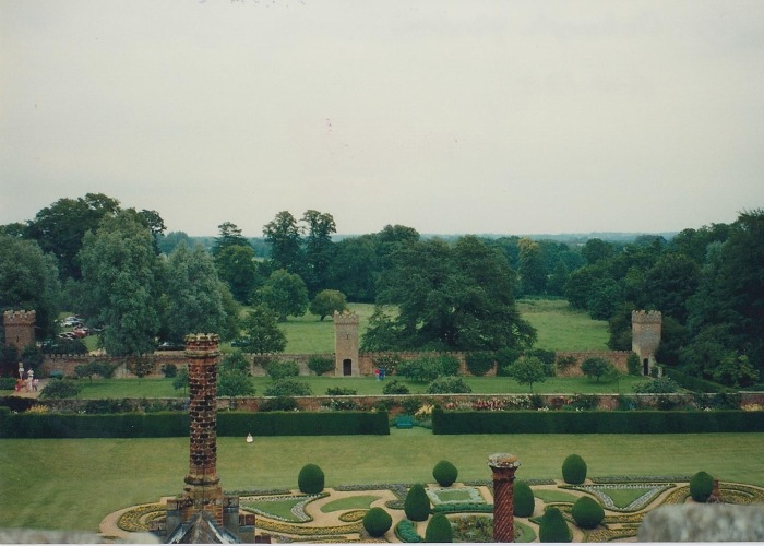 Formal Garden, Oxburgh Hall, UK