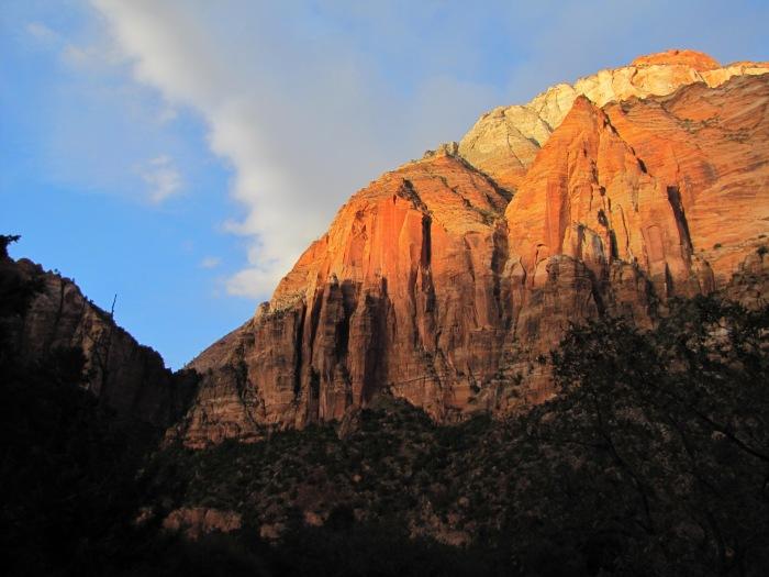 Cliff, Zion National Park