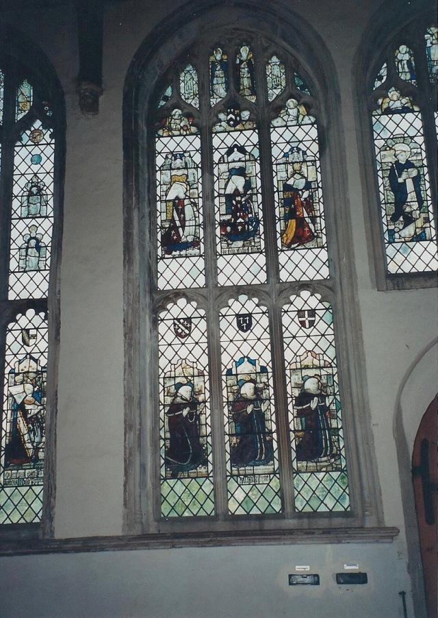 Church windows, Long Melford