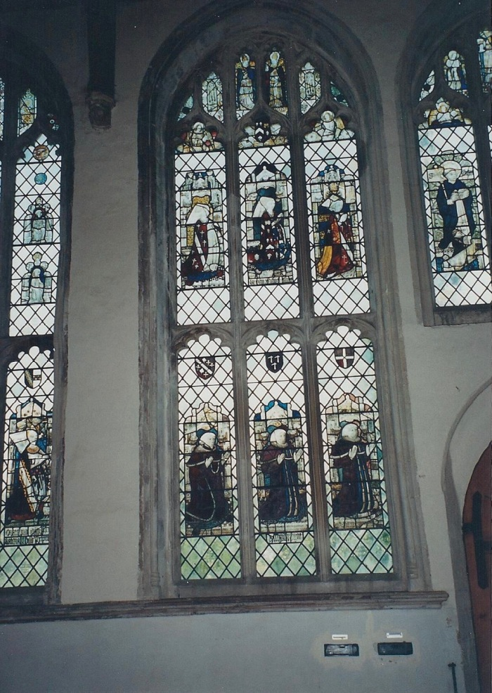 Church windows, Long Melford
