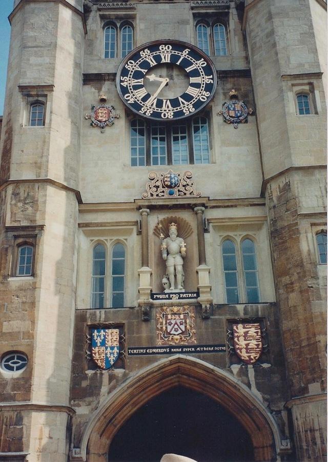 Gate , Clock Tower, Trinity College