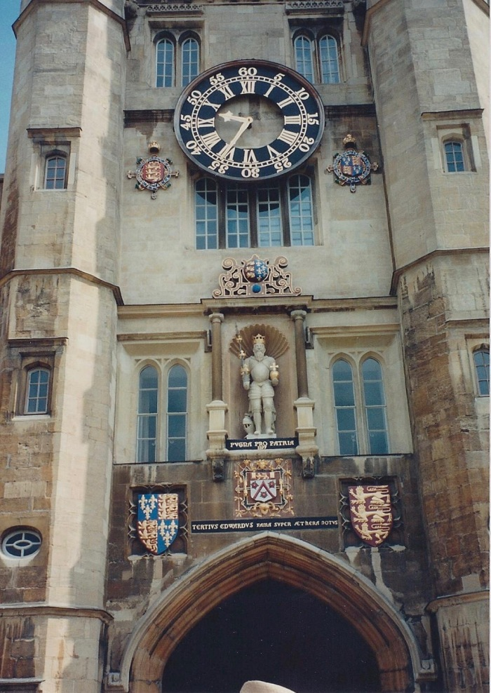 Gate , Clock Tower, Trinity College