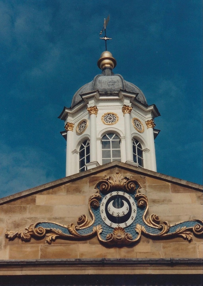 Tower over main building, Trinity Hall College