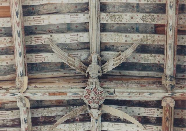 Ceiling detail, Blytheborough, beautiful angels