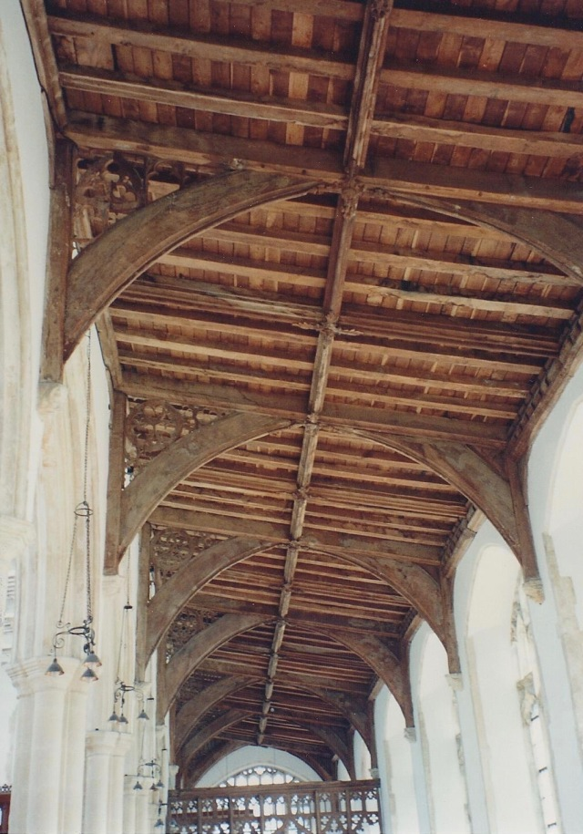 Ceiling Blytheborough Church