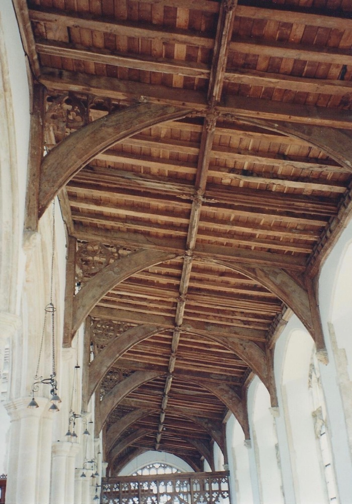 Ceiling Blytheborough Church