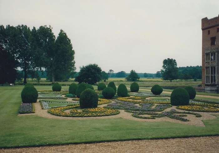 Formal Garden, Oxburgh Hall