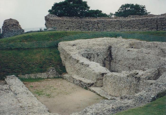 Ruins, Castle Acre