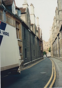 Trinity Lane, narrow!
