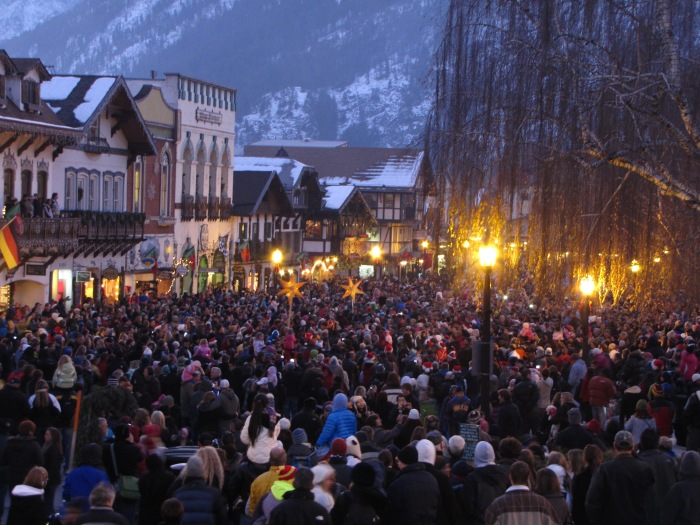 Leavenworth Tree-lighting Ceremony