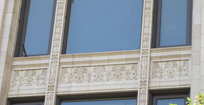Decatur Window detail