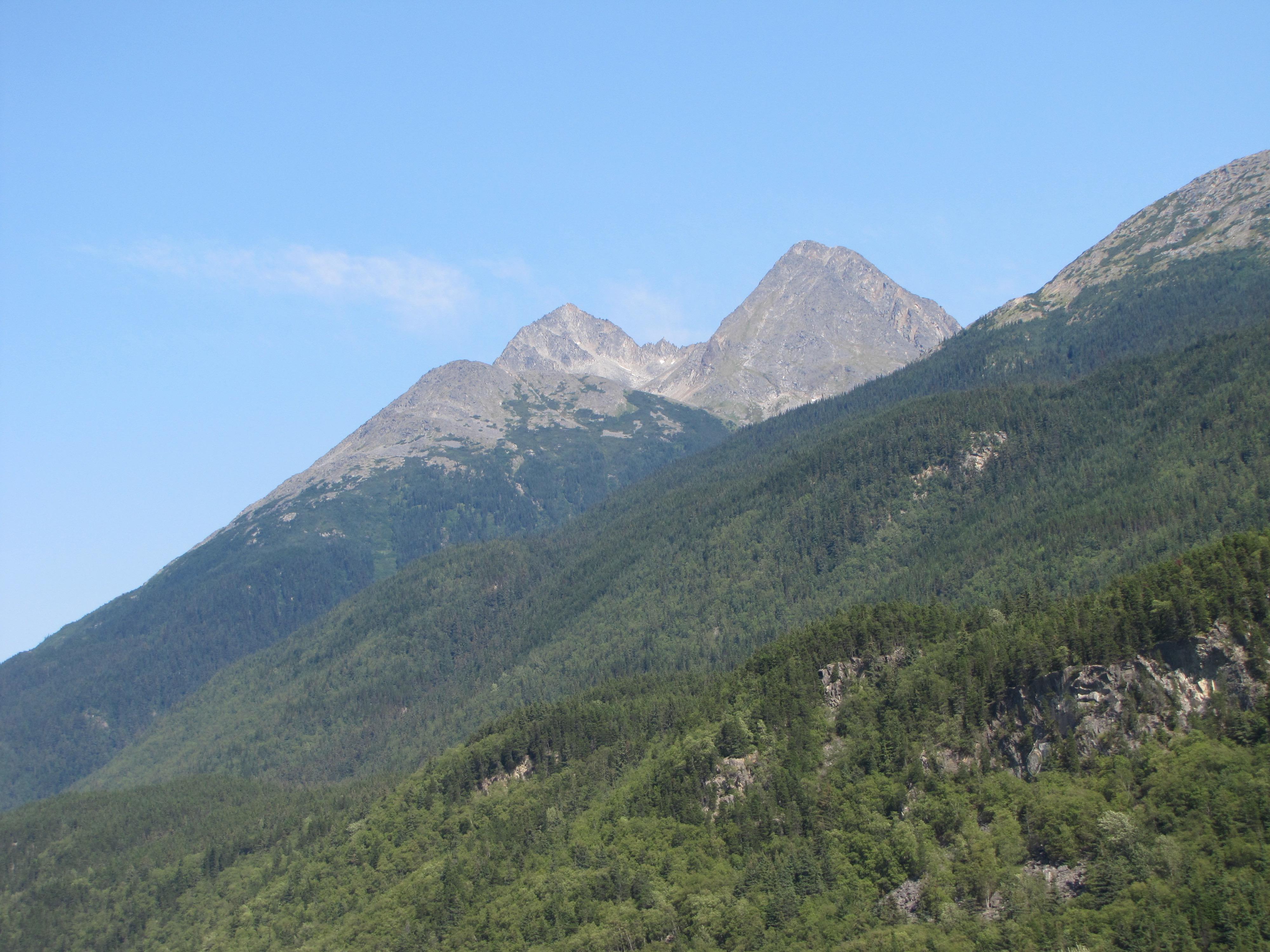 Mountains-Skagway