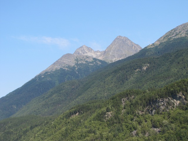 Mountains-Skagway