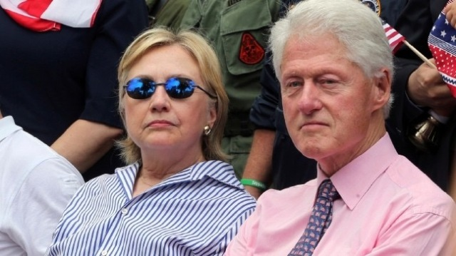 clintons-frown
