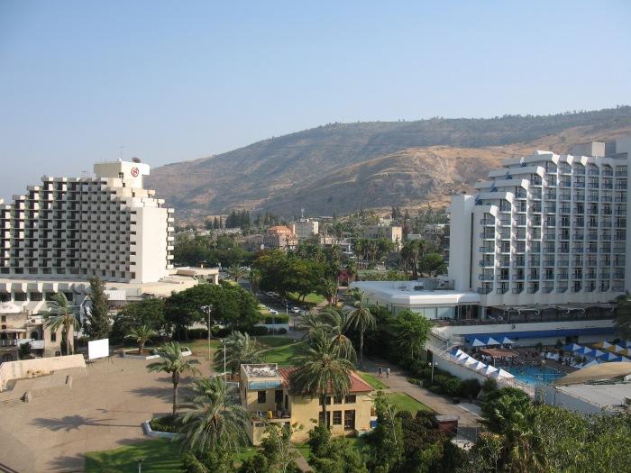 Hotels, Tiberias