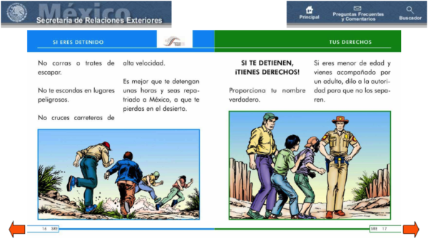 Illegal Immigration…Mexico Encourages it! Make this Handbook goViral.