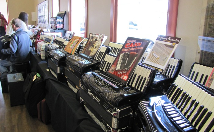 Accordions…As Far as the Eye Can See